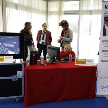 Le projet VICTEAMS présenté au SIGEM 2017